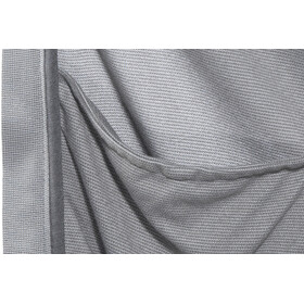 Odlo FLI Capa intermedia con cremallera completa Hombre, odlo graphite grey-odlo concrete grey-stripes